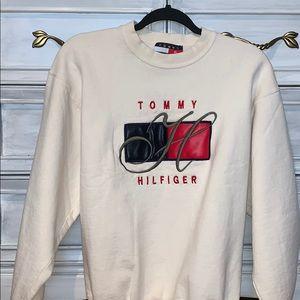tommy hilfiger vintage crewneck sweatshirt